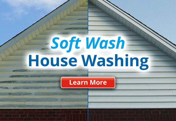 Soft Wash Low Pressure House Washing Savannah GA